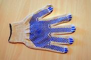 Рабочие перчатки с ПВХ